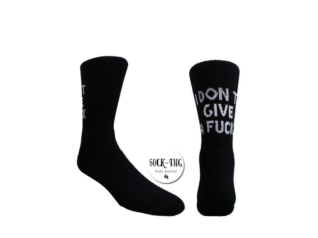 """Ανδρικές Κάλτσες Socking """"I DON'T GIVE A FUCK"""""""