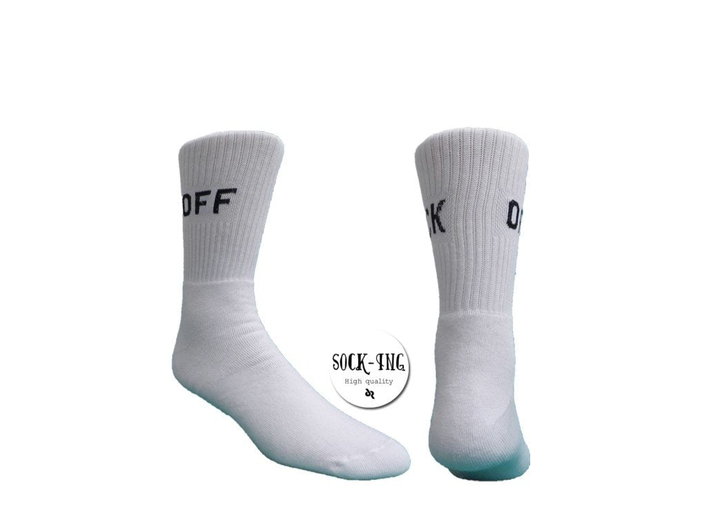 """Γυναικείες Κάλτσες Socking """"FUCK OFF"""""""